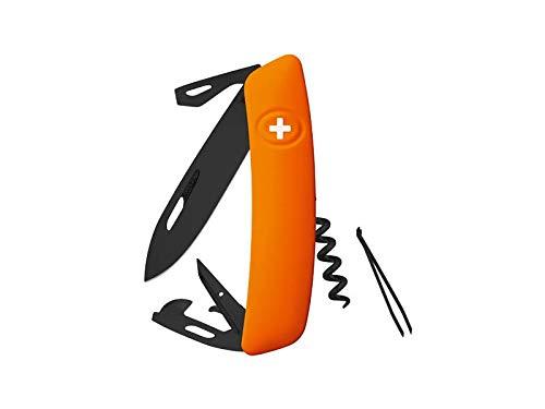 Swiza Herren D03 Taschenmesser, orange, 17 cm
