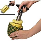 Today's Deal Discounted New Stainless Steel Pineapple Peeler Easy Slicer Cutter Corer Fruit Peeler Silver And Black