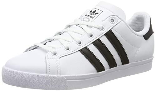 adidas Unisex-Kinder Coast Star Sneaker, Weiß Core Black/Footwear White 0, 38 EU -