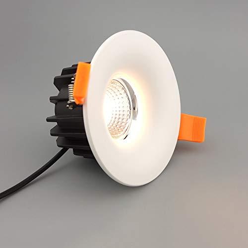 Modenny Aluminio antirreflectante COB Downlight Ultra brillante LED 8W Alto rendimiento de...