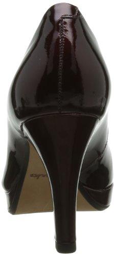Clarks Anika Kendra 203544714 Damen Pumps Rot (Wine Patent)