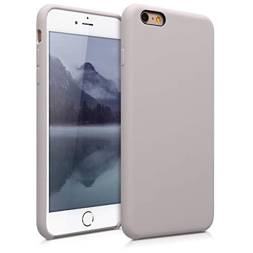 kwmobile Apple iPhone 6 Plus / 6S Plus Hülle - Handyhülle für Apple iPhone 6 Plus / 6S Plus - Handy Case in Helltaupe