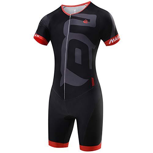 Ensemble de vêtements de cyclisme Malciklo, combinaison pour homme, vêtements de cyclisme, chandails respirants, séchage rapide, lycra (S)