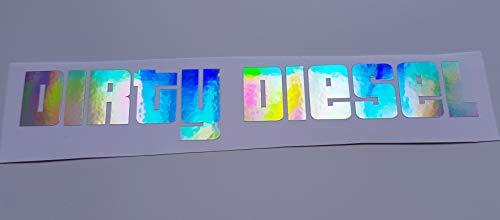 Schönheits Shop Dirty Diesel Farbwechsel Effekt Hologramm Flip Flop Auto Aufkleber Tuning Sticker Dapper Illest Turbo Shocker JDM Männer