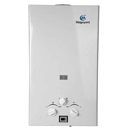Iglobalbuy 10L GLP Propano Gas Calentador instantáneo