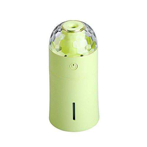 WO NICE Mini humidificador Lámpara proyección Portátil
