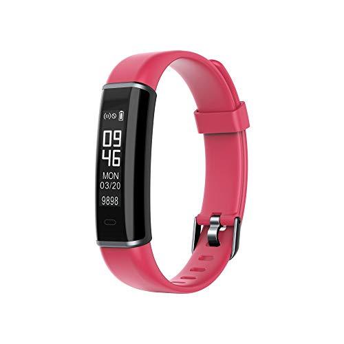 Smart Watch-Yallylunn wasserdichte Armband Fitness Tracker Pulsuhr Multifunktion On Wrist Silica Gel Electronic All Compatible Message Reminder FüR iPhone Android