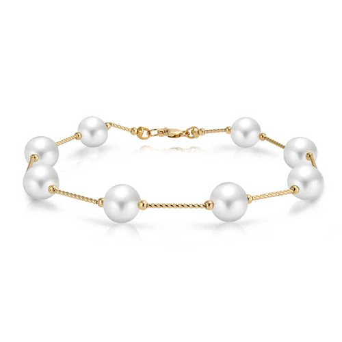 bling-jewelry-14k-gold-hollow-center-bar-link-freshwater-cultured-pearl-tin-cup-bridal-bracelet