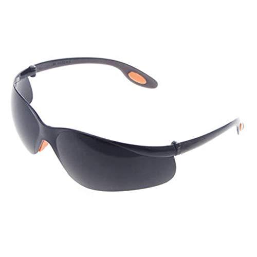 MOOUK Schutzbrille Brille Brille Brillen rutschfest Gummi Nasen und Ohr Griffe Anti-beschlag Industrie Schutzbrille - Schwarz