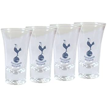 Tottenham Hotspur FC Official Shot Glass Set Cooking & Dining Home & Kitchen