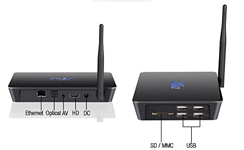 X92 3G 32G Android 7 1 TV Box Amlogic S912 Octa Core Media Player Support 4K H 265 2 4G 5GHz