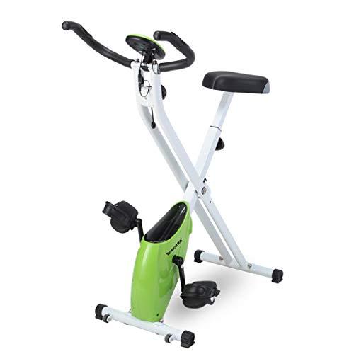 JSZXC Bicicleta estática, Bicicleta de Spinning con Volante de inercia bidireccional de 16 kg, Bicicleta...