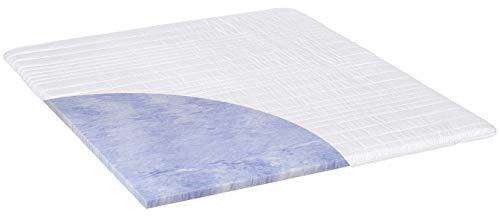 PHD Primera Gel-Schaum Topper 200 x 200 cm ALS weiche Auflage für Boxspringbetten oder ALS Komfort-Auflage für Feste Matratzen. Klimaregulierend, langlebig und mit waschbarem Bezug. Made in Germany