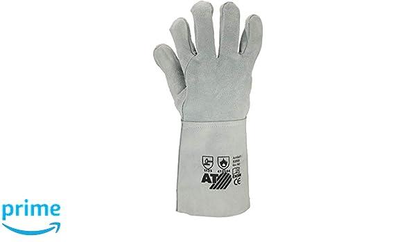 schwarz//grau ASATEX 3675//XL Kälteschutzhandschuhe  Größe XL 6er PACK Paar 10