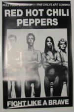 "Red Hot Chili Peppers-60 x 90 cm, motivo: manifesto/Poster """