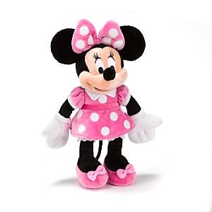 Kostüm Minnie Clubhouse Mouse - Minnie Mouse Clubhouse Small Soft Toy-H28 x W8cm approx.