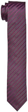 Venti Herren Krawatte 001120/951, Gr. one size, Violett (951 beere)