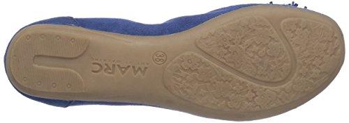 Marc Shoes 1.650.33-28/740-janine, Ballerines fermées femme Bleu - Blau (denim 740)