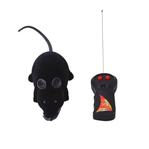 SimpleLife Ratón inalámbrico Divertido Ratón de Control Remoto Rat Toy para el Juego del Perro del Gato del Gato Showy Lindo