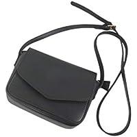 DoMoment Versión Coreana Color sólido Bolso pequeño Cuadrado Moda Simple del Todo-fósforo Estilo Messenger Bag PU Bolso de Hombro de Las Mujeres