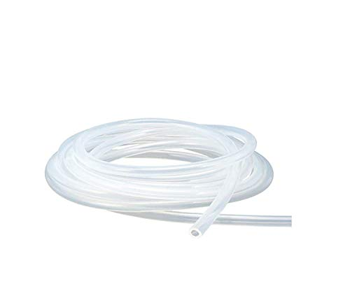 Antrella Flexibler Silikonschlauch Lebensmittelqualität 25mm ID x OD 31mm Wandstärke 3mm Wasserleitung, transparenter Schlauch 2 Meter Länge