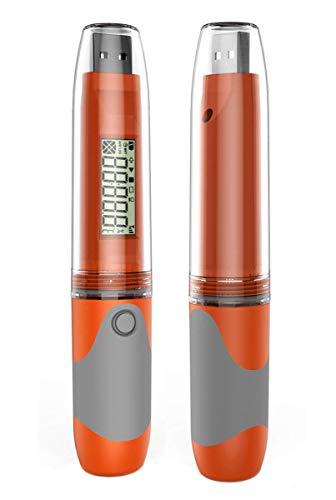 Temperatur Datenlogger -Elitech Mini USB Temp Rekorder Interner Externer Sensor Im Labor, Treibhaus oder zu Hause (RC-51)