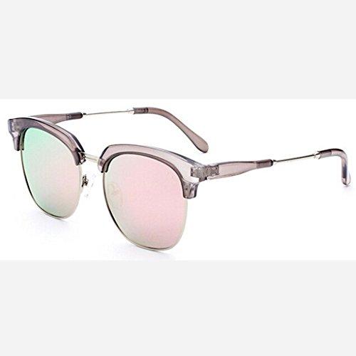 ZHANG Lunettes de soleil polarisées dames big box marée lunettes de soleil grind face hommes et femmes marée plage conduite voyage lunettes de soleil alpinisme, 1