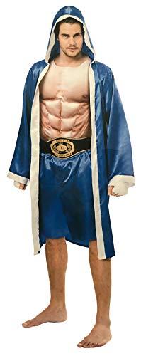 Sieger Kostüm - Brandsseller Herren Kostüm Boxer Karneval Party Junggesellenabschied One Size/Einheitsgröße Blau