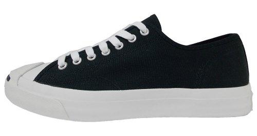 Converse Jp Canvas Ox, Chaussures en Toile Mixte Adulte Noir/blanc
