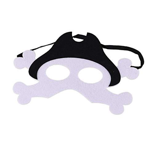(Delicacydex Halloween Maske Halloween Maske Halloween Kostüm Kostüme - Pirat)