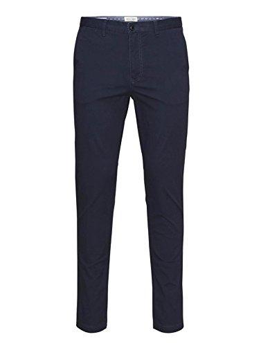 Jack & Jones Marco pantaloni Chino Cotone Slim Fit Navy W32 / L32