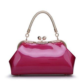 Mefly Leder Taschen Und Lederwaren Taschen Neue Helle Neue Trend Rose red