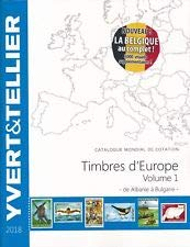 Tome Grande Europe Vol 1 a a Bulgarie 2018 par Yvert et Tellier