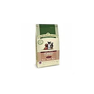 James Wellbeloved Dog Food Turkey and Rice Adult Small Breed (1.5kg) 7