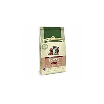 James Wellbeloved Dog Food Turkey and Rice Adult Small Breed (1.5kg) 1