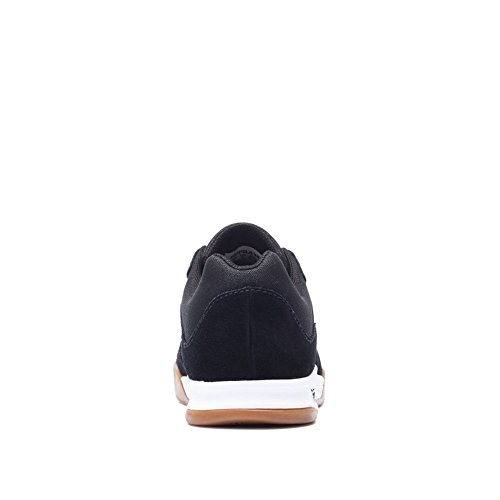 Supra Chaussures Avex Black/White-Gum Noir