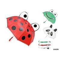 laltex Ladybird Frog Panda 3d Kids Umbrla