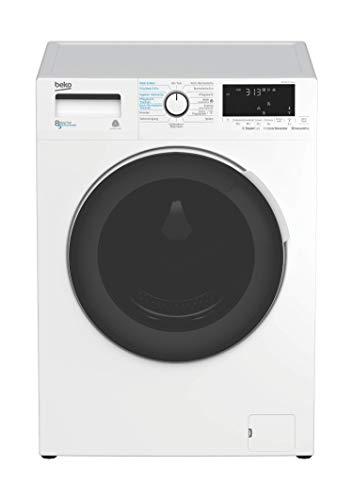 Beko WDW 85141 Steam Waschtrockner / 15 Programme /8 kg Waschen / 5 kg Trocknen/SteamCure Dampffunktion/Bluetooth Steuerung/AddXtra Nachlegefunktion/Energieeffizienklasse A
