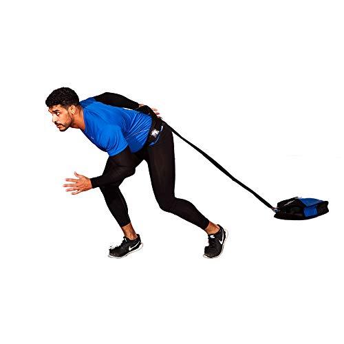 Fitness Health FH Pro Speed Sled Sack mit variablem Gewicht, Sprint-Trainer, Power Bag Laufen