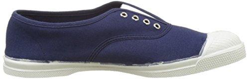 Bensimon Tennis Elly Bicolor, Baskets Basses Femme Bleu (Bleu)