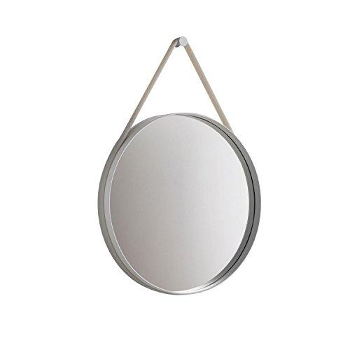 HAY - Spiegel Strap - grau - Ø 50 cm