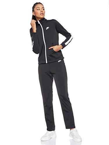 Nike 830345-010, Tuta Donna, Black/White, S