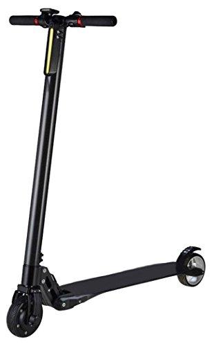 Moma Bikes en Fibra de Carbono con Batería Samsung 8,8Ah Patinete Eléctrico, Unisex Adulto, Negro, No