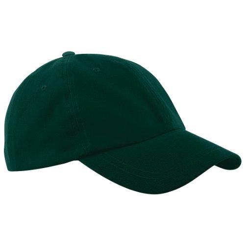Beechfield - Casquette de Baseball 100% coton - Unisexe Vert - lime green