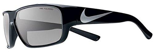 Nike Unisex-Erwachsene Mercurial 6.0 P Ev0779 017 61 Sonnenbrille, Schwarz (Mtt Blck/Gry Plrz),