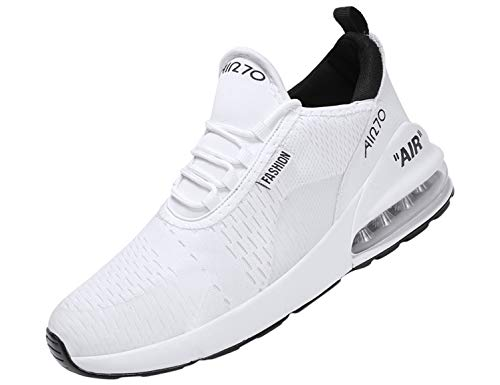 SINOES Herren Sportschuhe Leichtgewicht Laufschuhe straßenlaufschuhe Trainer Outdoor Sneaker Freizeitschuhe Gym Fitnessschuhe -