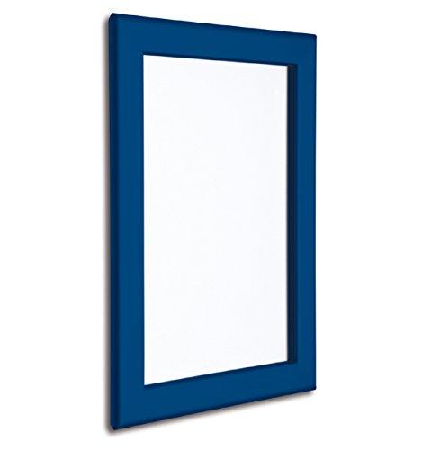 32mm blau Poster Snap Rahmen, Größe A4Poster. Code apf432C. Blu-snap
