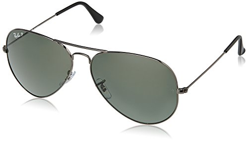 Ray-Ban Aviator Sunglasses (Natural Green) (0RB3025004/5862)