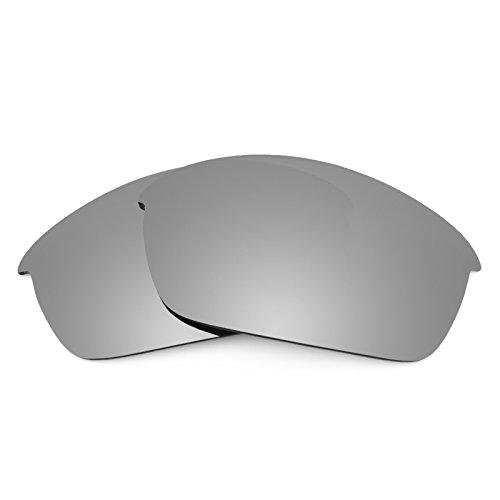 Verres de rechange pour Oakley Flak Jacket Asian Fit — Plusieurs options Titanium MirrorShield® - Non-Polarisés