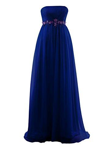 YiYaDawn -  Vestito  - linea ad a - Donna Blu reale